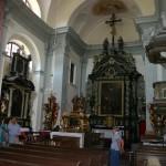 Kostel Narození sv. Jana Křtitele - oltář