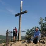 Na vyhlídce u kříže