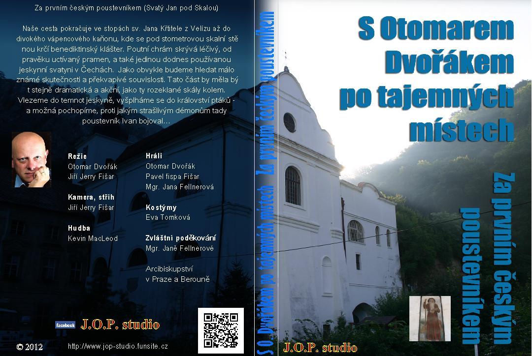 Svatý Jan pod Skalou - obal DVD